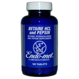 Betaine HCL Endomet Labs